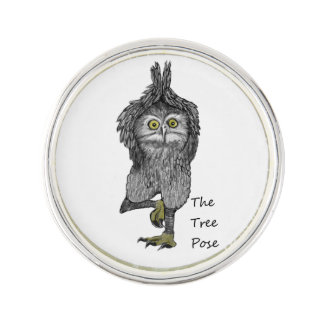The Tree Pose Lapel Pin