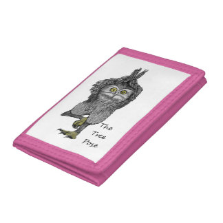 The Tree Pose Trifold Wallet