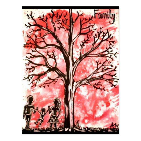 The Tree Series: Family Postcard
