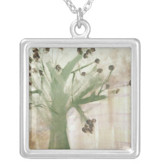 The Tree Silver Plated Necklace