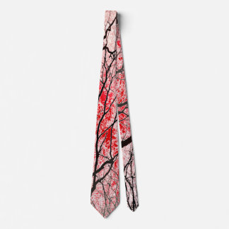 The Trees Know (save & black) Tie