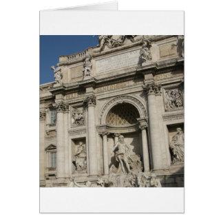 The Trevi Fountain Card