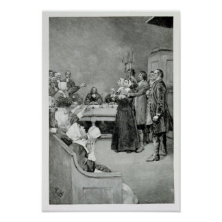The Trial of a Witch Poster