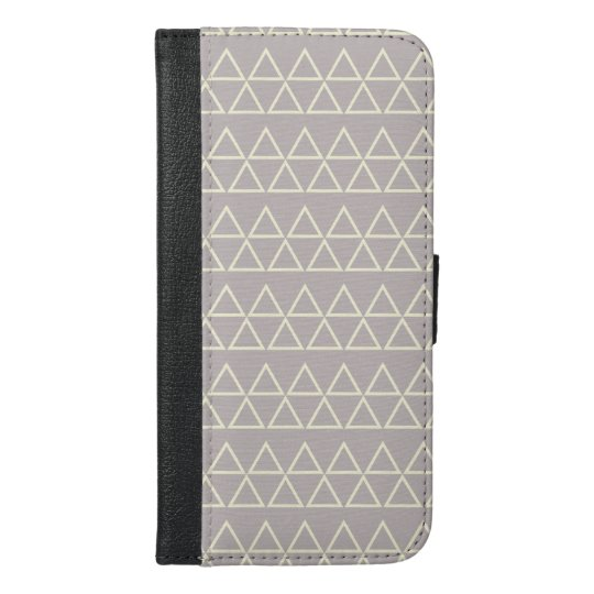 The Triangles iPhone 6/6s Plus Wallet Case