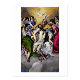 The Trinity, 1577-79 (oil on canvas) Postcard
