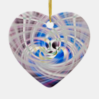 The Trinity Ceramic Heart Ornament