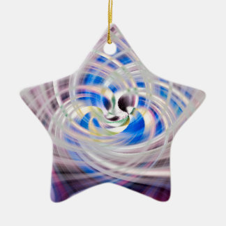 The Trinity Ceramic Star Ornament