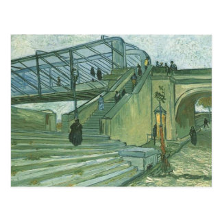 The Trinquetaille Bridge by Vincent van Gogh Post Cards
