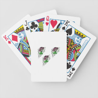 THE TRIO PLAY BICYCLE PLAYING CARDS