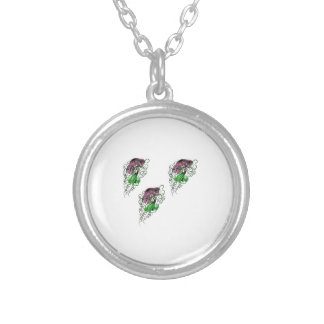 THE TRIO PLAY SILVER PLATED NECKLACE