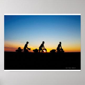 The trio Solidream, Sonora, Mexico Poster