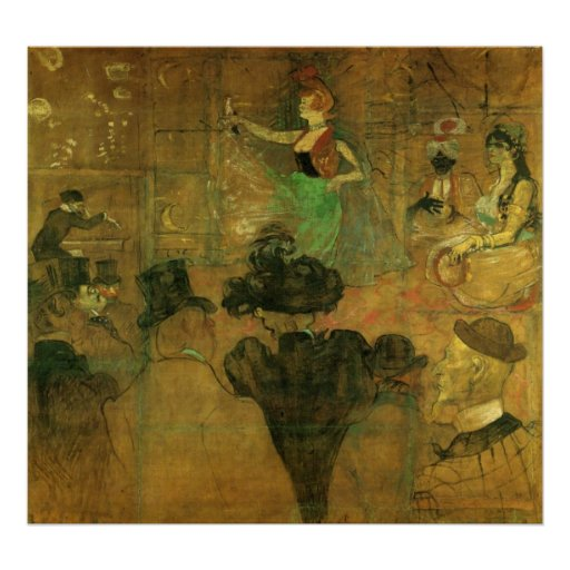 The Tripper 2 by Toulouse-Lautrec Print