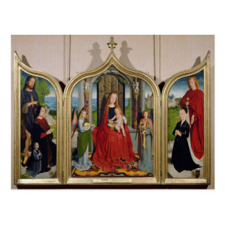 The Triptych of the Sedano Family, c.1495-98 Postcard