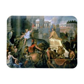The Triumph of Alexander, or the Entrance of Alexa Rectangular Photo Magnet