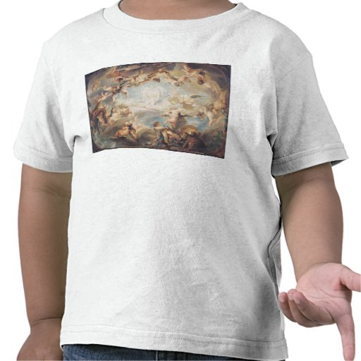 The Triumph of Cupid over all the Gods, 1752 Shirts