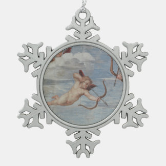 The Triumph of Galatea Snowflake Pewter Christmas Ornament