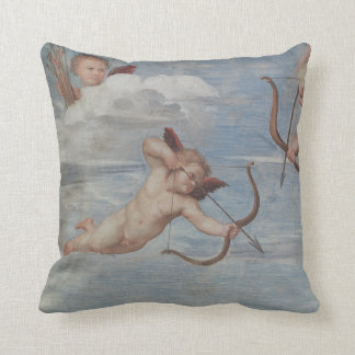 The Triumph of Galatea Throw Pillow