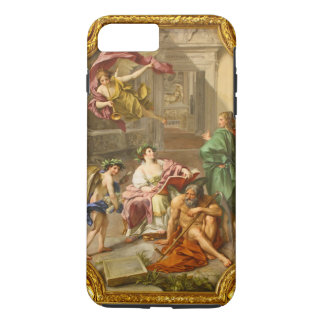 The Triumph of History over Time by Anton R Mengs iPhone 7 Plus Case