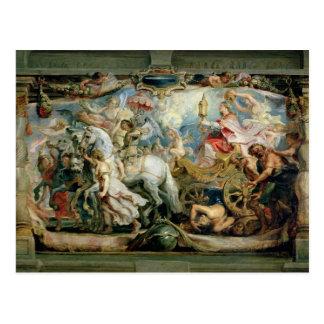 The Triumph of the Church Postcard