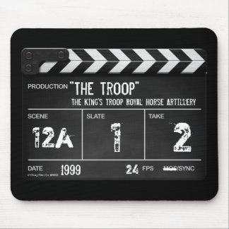 The Troop film clapperboard mouse mat Mouse Pad