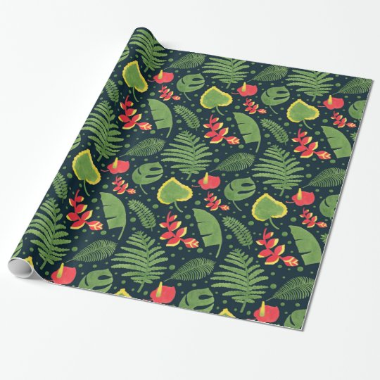 The Tropical Garden Wrapping Paper