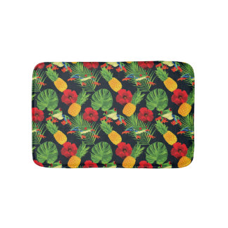 The Tropical Red Eyed Tree Frog Bath Mat