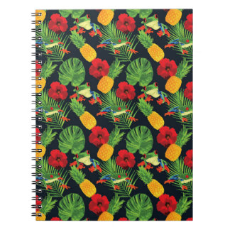 The Tropical Red Eyed Tree Frog Notebook