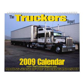 The Truckers Report 2009 Calendar