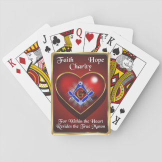 The True Freemason Playing Cards
