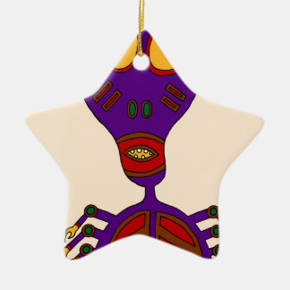 The True Ghost Of Anansi Ceramic Ornament