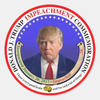 The Trump Impeachment Commemorative Sticker