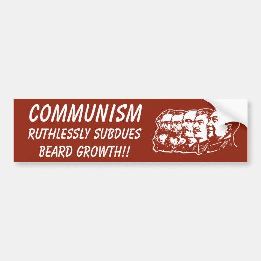 The Truth about Communism Bumper Sticker