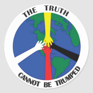 The Truth Cannot Be Trumped - Sticker