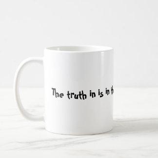 The truth classic mug