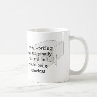 The truth classic white coffee mug