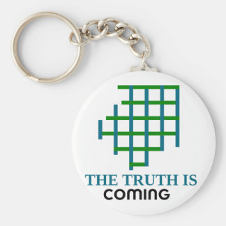 the truth is coming keychain