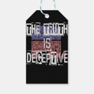 The Truth is Deceptive 1 Gift Tags