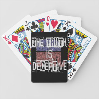 The Truth is Deceptive 1 Poker Deck