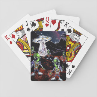 The Truth is Out There Playing Cards