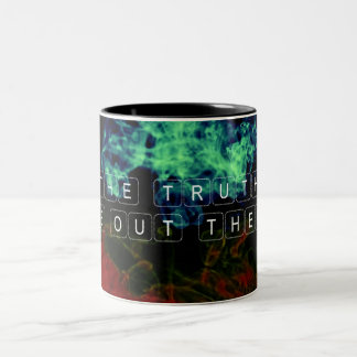 The Truth is Out There Two-Tone Coffee Mug