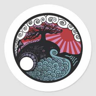 The Truth Tree Classic Round Sticker