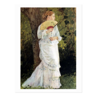 The Trysting Place by Winslow Homer Postcard