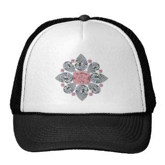 The Tudor Rose Pink Diamond Hat