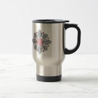 The Tudor Rose Pink Diamond Coffee Mug