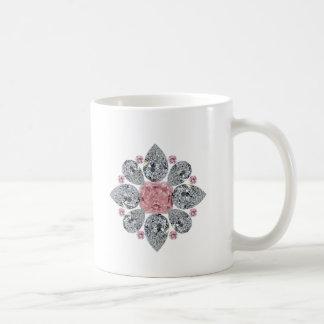 The Tudor Rose Pink Diamond Mug