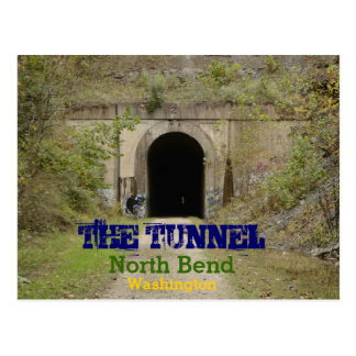The Tunnel North Bend Washington Postcard