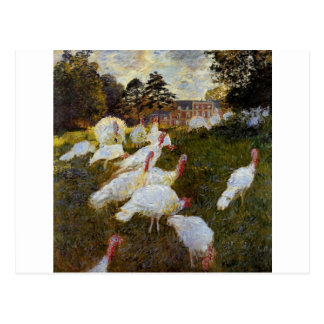 The Turkeys by Claude Monet Postcard