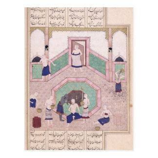 The Turkish Bath Postcard
