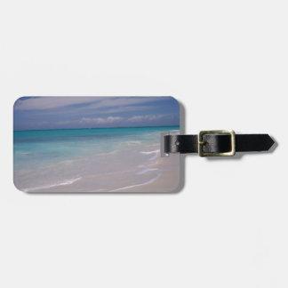 The Turks & Caicos - the Beach! Luggage Tag