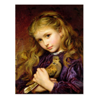 The Turtle Dove by Sophie Anderson Postcard